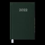 Еженедельник датированный 2022 Buromax MONOCHROM карманный зеленый 128 с (BM.2880-04)