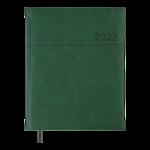 Еженедельник датированный 2022 Buromax ORION A4 зелений 136 с (BM.2783-04)
