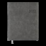 Еженедельник датированный 2022 Buromax ORION A4 серый 136 с (BM.2783-09)