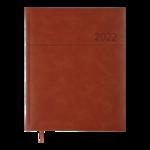 Еженедельник датированный 2022 Buromax ORION A4 св-коричневый 136 с (BM.2783-18)