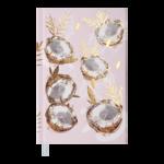 Ежедневник недатированный Buromax PARADISE А6 молочный 288 с (BM.2626-37)