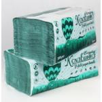 Полотенца КОХАВИНКА бумажные V-образные зеленые 200л (kx.50071)