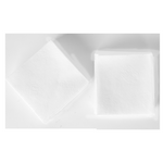 Салфетки бумажные PAPERO белые 500шт (NS018)