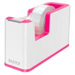 Настольный диспенсер для скотча Leitz WOW Розовый металлик (5364-10-23)