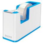 Настольный диспенсер для скотча Leitz WOW Синий металлик (5364-10-36)