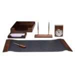 Набор настольный деревянный Bestar, 6 предметов, орех (6148XDX)