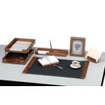 Набор настольный деревянный Bestar, 6 предметов, орех (6213WDN)