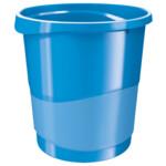 Корзина для бумаги Esselte Vivida 14 л пластиковая, синяя (623948)