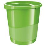 Корзина для бумаги Esselte Vivida 14 л пластиковая, зеленая (623950)