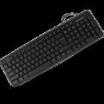 Клавиатура проводная Crown usb Black (CMK-02)