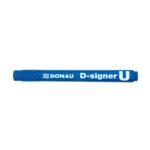 Маркер водостойкий Donau D-Signer U 7371001PL-10, 2-4 мм, синий