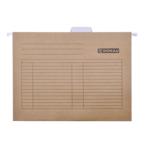 Подвесной файл Donau, А4, коричневый (7410905-02)