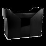 Картотека для подвесных файлов Donau, пластик, черная (7421001-01)