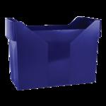 Картотека для подвесных файлов Donau, пластик, синяя (7421001-18)