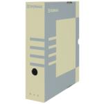 Бокс для архивации документов Donau, 80 мм, коричневый (7660301PL-02)