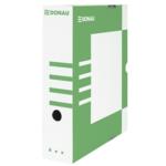 Бокс для архивации документов Donau, 80 мм, зеленый (7660301PL-06)