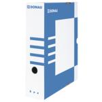 Бокс для архивации документов Donau, 80 мм, синий (7660301PL-10)