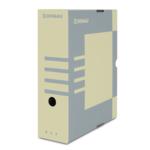 Бокс для архивации документов Donau, 100 мм, коричневый (7661301PL-02)
