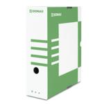 Бокс для архивации документов Donau, 100 мм, зеленый (7661301PL-06)