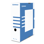 Бокс для архивации документов Donau, 100 мм, синий (7661301PL-10)