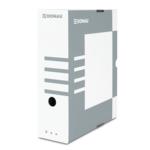 Бокс для архивации документов Donau, 100 мм, серый (7661301PL-13)