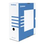 Бокс для архивации документов Donau, 120 мм, синий (7662301PL-10)