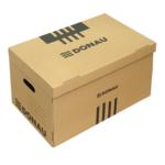 Короб для архивных боксов с накидной крышкой Donau, коричневый (7666301PL-02)