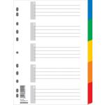Цифровой индекс-разделитель для регистраторов Donau, А4, 5 позиций, + лист описи (7704095)