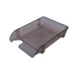 Лоток горизонтальный Арника 80501, пластик, дымчатый