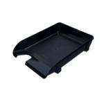 Лоток горизонтальный Арника 80503, пластик, черный