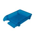 Лоток горизонтальный Арника 80505, пластик, голубой