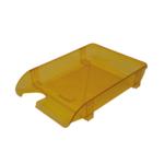 Лоток горизонтальный Арника 80506, пластик, лимонный