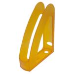 Лоток вертикальный Арника Радуга 80538, с передней стенкой, пластик, лимонный