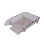 Лоток горизонтальный Арника Компакт JobMax 80601, пластик, дымчатый