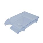 Лоток горизонтальный Арника Компакт JobMax 80602, пластик, прозрачный