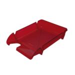 Лоток горизонтальный Арника Компакт JobMax 80604, пластик, багровый