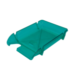 Лоток горизонтальный Арника Компакт JobMax 80607, пластик, светло-зеленый