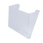 Лоток вертикальный Арника 80702, настенный, пластик, прозрачный