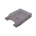 Лоток горизонтальный Арника Симетрия 80801, пластик, дымчатый