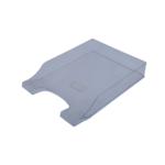Лоток горизонтальный Арника Симетрия 80802, пластик, прозрачный