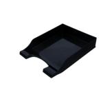 Лоток горизонтальный Арника Симетрия 80803, пластик, черный