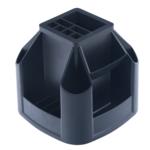Подставка пластиковая вращающаяся Арника, черный (81031)