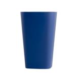 Стакан пластиковый для письменных принадлежностей (творчества) Arnika квадратный 8х8х11,7 см Синий (81663)