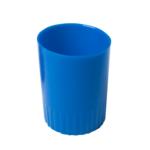 Стакан пластиковый для ручек Арника, непрозрачный, синий (81871)