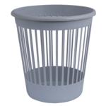 Корзина для бумаг Арника, 10 л, пластик, серый (82060)