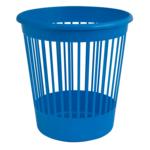 Корзина для бумаг Арника, 10 л, пластик, синий (82063)