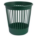 Корзина для бумаг Арника, 10 л, пластик, зеленый (82066)