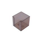 Бокс для бумаги Арника, 90х90х90 мм, дымчатый (83031)