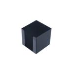 Бокс для бумаги Арника, 90х90х90 мм, черный (83033)