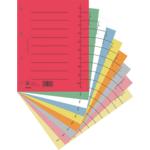 Индекс-разделитель Donau, А4, картон, 100 шт, ассорти (8610001S-99)